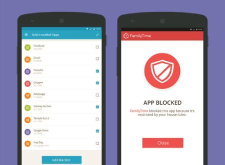 App Blocker of FamilyTime App (Previous Version)