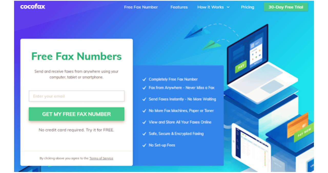 CocoFax, One Of The Best Online Fax Service